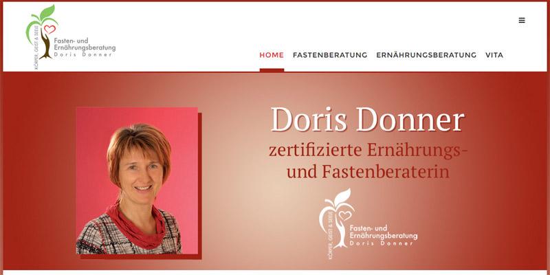 Doris Donner - Fastenberaterin