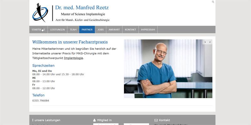 Dr. med. Manfred Reetz