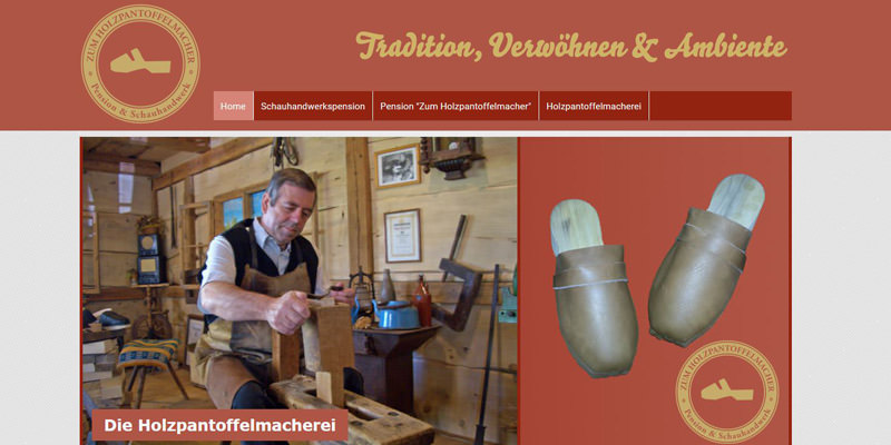 """Pension """"Zum Holzpantoffelmacher"""""""