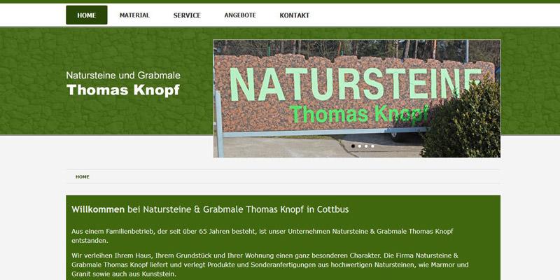 Natursteine und Grabmale Thomas Knopf