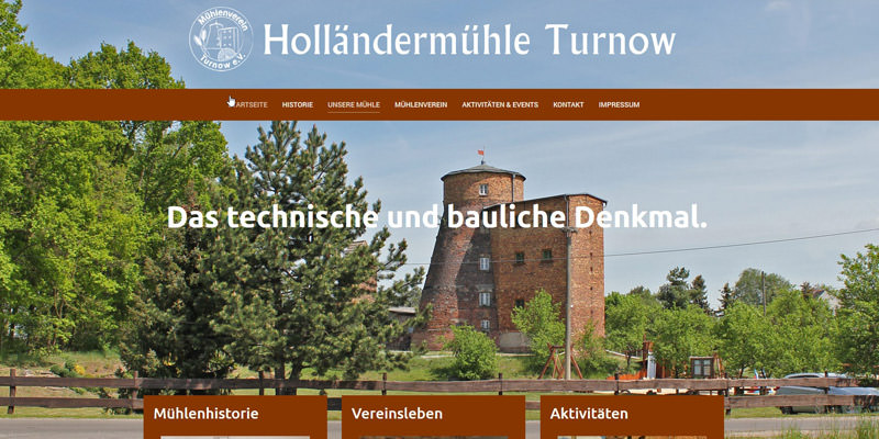 Holländermühle Turnow