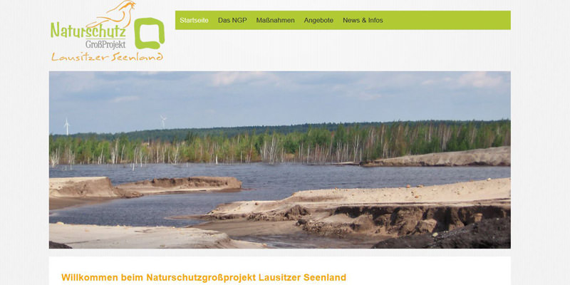 Naturschutzgroßprojekt Lausitzer Seenland