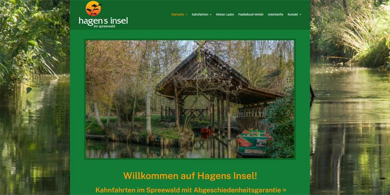 Hagen´s Insel Burg (Spreewald)