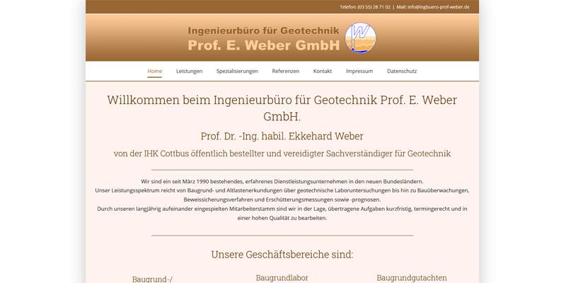 Ingenieurbüro Prof. Weber