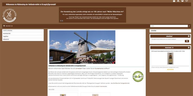 Mühlenshop Straupitz/Spreewald
